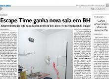Escape Time lança sala em BH