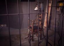 A gente quase fugiu da Alcatraz, sala do Escape Time, que tem uma das menores taxas de saída do local.